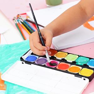 Pintem un paisatge amb aquarel·les