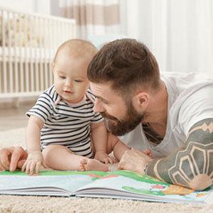¿Cuándo podemos empezar a leer libros a nuestro bebé?