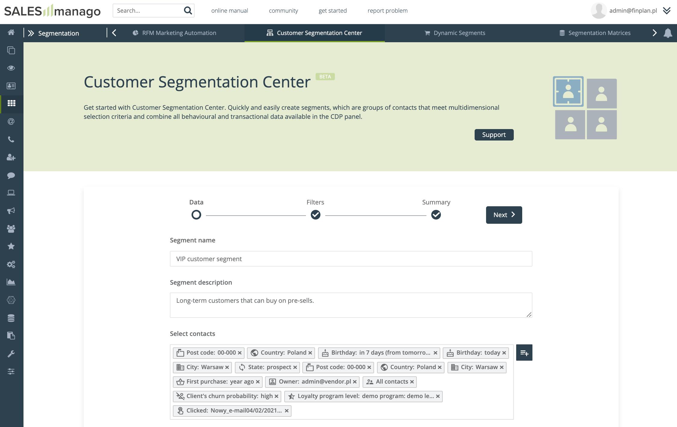 Centrum Segmentacji Klientów