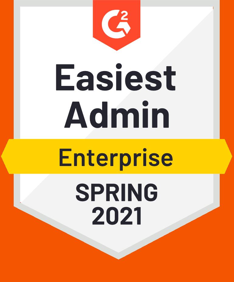 G2 Easiest Admin