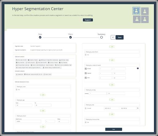 Hyper Segmentation Center