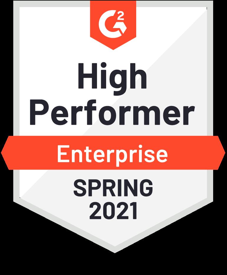 G2 High Perfomer Enterprise